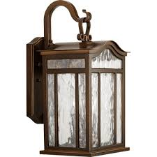 progress lighting meadowlark collection 3 light outdoor rubbed