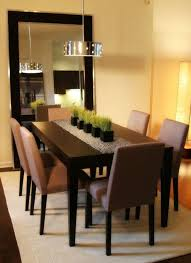 Dining Room Modern Table Centerpiece How To Decorate When Not In