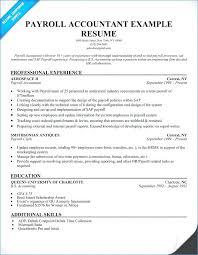 Sample Resume Of Accountant Payroll Junior Pdf