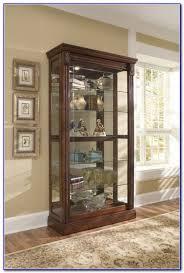 pulaski concave corner curio cabinet cabinet home furniture