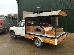 100 Mobile Pizza Truck Working Progress On My Oven Pinteres Woods Chest Freezer