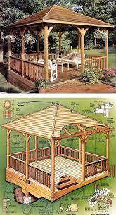 12x12 Floating Deck Plans by Tricks For Build A Wooden Gazebo Wooden Design Plans Gazebos