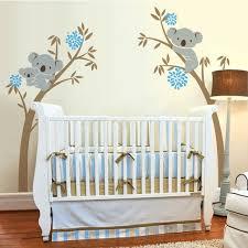 stickers chambre bébé arbre oversize koala ours vinyle sticker autocollant arbre pour bébé