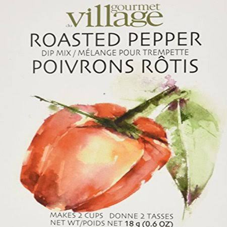 Gourmet du Village Roasted Pepper Dip Mix, Size: Large, White