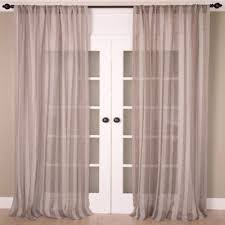 Bed Bath And Beyond Sheer Window Curtains by Buy Sheer 84 Inch Window Curtain Panel In Grey From Bed Bath U0026 Beyond