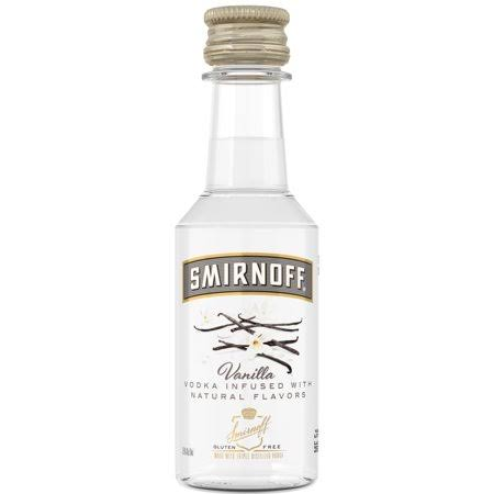 Smirnoff Vanilla Vodka - 50 ml bottle