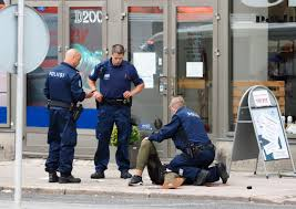 Sinked Meaning In Hindi by Several People Stabbed In Finnish City Of Turku