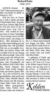 Obituary for Richard Dahn