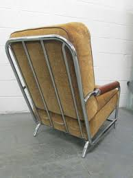 Streamline Chrome Lounge Chair After Gilbert Rohde ...