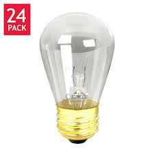 feit string light sign replacement s14 bulbs incandescent 2 700k