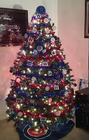 Raz Christmas Trees Wholesale by Our Chicago Cubs Christmas Tree 2016champions Cubbies