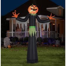 Halloween Blow Up Yard Decorations Canada by Gemmy Airblown Inflatable 9 U0027 X 6 U0027 Giant Eye Pirate Matie Minion