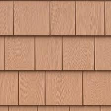 100 Cedar Siding Red Engineered Composite Shingle I Grayne