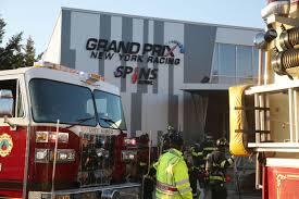 100 Mt Kisco Truck Mount Fire Breaks Out In Grand Prix New York Storage Area