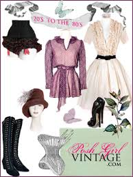 Posh Girl Vintage Clothing Ad