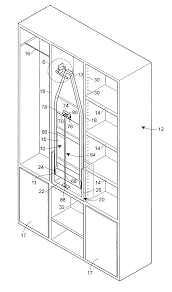 Ironing Board Cabinet With Storage by Patent Us7062871 Stowable Ironing Board Installation Providing