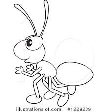 Royalty Free RF Ant Clipart Illustration 1229239 By Alex Bannykh