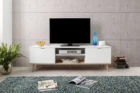newroom tv board elia weiß tv schrank skandinavisch fernsehtisch tv board wohnzimmer kaufen otto