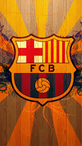wallpaper Barcelona Logo Iphone 5 Full HD Wallpaper PIC