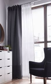 White And Gray Blackout Curtains by Best 25 Double Curtains Ideas On Pinterest Modern Living Room