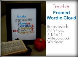 Teacher Apprecitation Week Gift