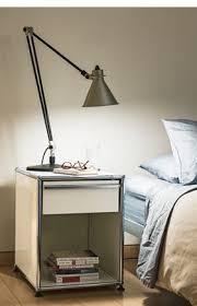 der usm haller nachttisch ein büromöbel am bett