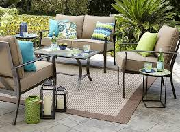 Sears Patio Furniture Cushions by Garden Oasis Harrison 7 Pc Dining Set Only 257 29 At Sears