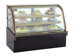 Mini Cake Display Refrigerator Bakery Countertop Showcase Small