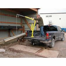 100 Truck And Van Accessories Vestil Steel Winch Operated Pickup Trailer Jib Crane WTJ2