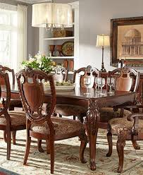 Macys Bradford Dining Room Table by Royal Manor Dining Room Furniture 9 Piece Set Table 6 Side