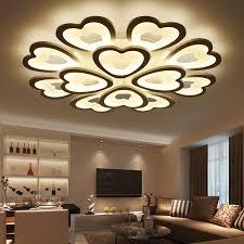 modern led ceiling lights for living room bedroom ceiling l acrylic shape led ceiling lighting home decor