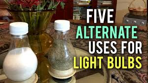 5 uses for light bulbs