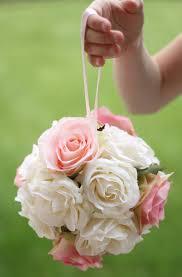 Shabby Chic Wedding Decor Pinterest by Blush And Ivory Mint Pomander For Flower Girls Dream Wedding