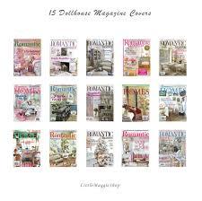 100 Download Interior Design Magazine Miniature Home Dollhouse Etsy