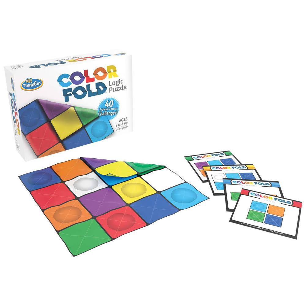 ThinkFun Color-Fold Logic Puzzle