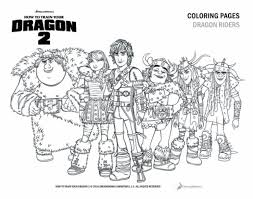 How To Train Your Dragon 2 Free Coloring Pages And Printables