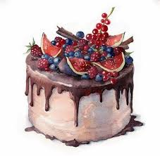9a8dbaa4794ba11e22cb507c3e0e11ff cake art drawing drawing food