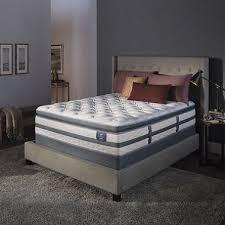 Serta Perfect Sleeper Air Mattress With Headboard by Serta Perfect Sleeper Luxury Hybrid Glenmoor Super Pillowtop