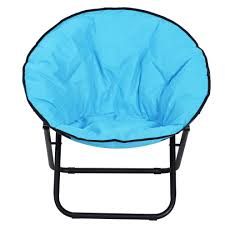 Outsunny Garden Folding Portable Padded Saucer Moon Chair Padded ... Amazoncom Yunhigh Mini Portable Folding Stool Alinum Fishing Outdoor Chair Pnic Bbq Alinium Seat Outad Heavy Duty Camp Holds 330lbs A Fh Camping Leisure Tables Studio Directors World Chairs Lweight Au Dropshipping For Chanodug Oxford Cloth Bpack With Cup And Rod Holder Adults Outside For Two Side Table