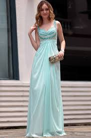 shoulder straps empire waist light green dress for pregnant women