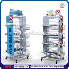 TSD M818 Retail Wholesale Wire Display Hanging Basket Racks Energy Drink Stand Related Product