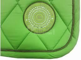 tapis de selle vert menthe les couleurs d quipements questres
