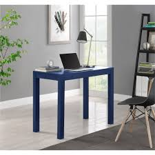 Mainstays Desk Chair Multiple Colors Blue by Ameriwood Furniture Parsons Desk With Drawer Blue