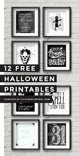 Scary Halloween Coloring Pictures To Print by 12 Free Halloween Printables Free Halloween Printables Wink