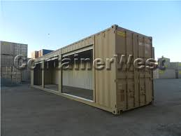 100 10 Wide Shipping Container 40 Three RollUp Door Three Wide Roll Up Doors Have