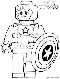 Lego Marvel Project Awesome Super Heroes Coloring Pages