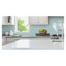 American Olean Mosaic Tile Colors by Shop American Olean Stellaris Gemini Glass Wall Tile Common 3 In