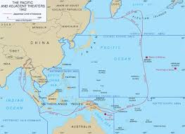 Sinking Islands In The South Pacific by Wwii Campaigns Central Pacific