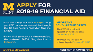 Fafsa Help Desk Number by Office Of Financial Aid University Of Michigan Flint