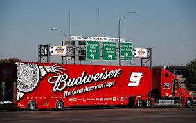 Budweiser, Freightliner Coronado, NASCAR, Transporter, Hauler | Race ...